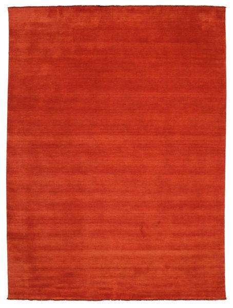 Handloom Fringes - Ruggine/Rosso Tappeto 300X400 Moderno Ruggine/Rosso Grandi (Lana, India)