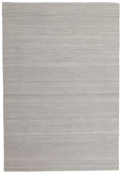 Kilim Loom - Grigio Tappeto 160X230 Moderno Tessuto A Mano Grigio Chiaro (Lana, India)