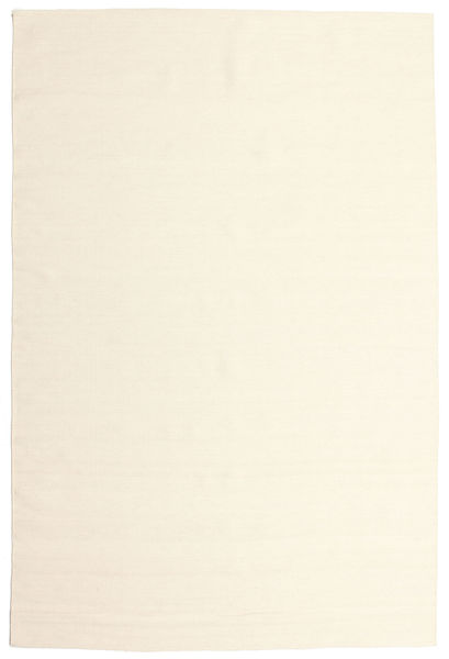 Kilim Loom - Bianco Sporco Tappeto 200X300 Moderno Tessuto A Mano Beige/Bianco/Creme (Lana, India)