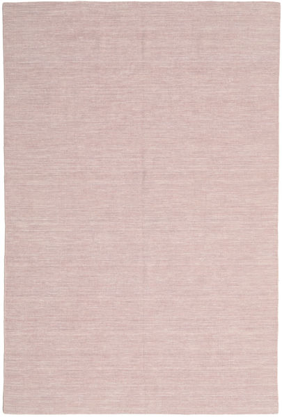 Kilim Loom - Misty Pink Tappeto 200X300 Moderno Tessuto A Mano Rosa Chiaro/Violet Clair (Lana, India)