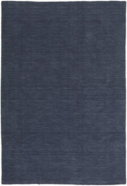 Kilim Loom - Denim Blu Tappeto 250X350 Moderno Tessuto A Mano Blu Scuro/Blu Grandi (Lana, India)