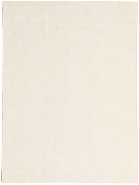 Kilim Loom - Bianco Sporco Tappeto 160X230 Moderno Tessuto A Mano Beige (Lana, India)