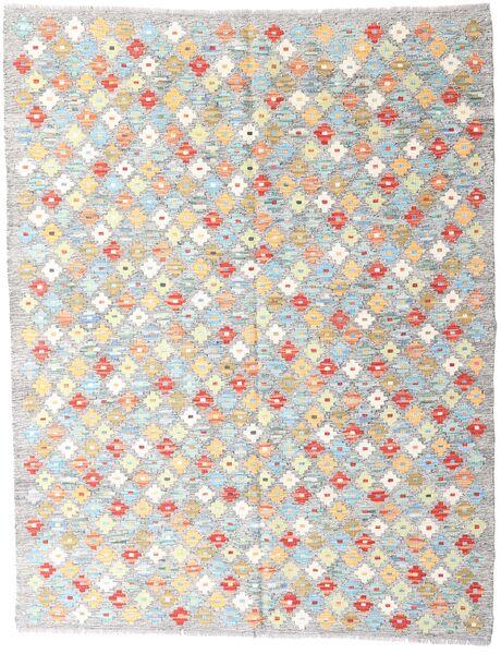 Kilim Afghan Old Style Tappeto 151X194 Orientale Tessuto A Mano Grigio Chiaro/Beige (Lana, Afghanistan)