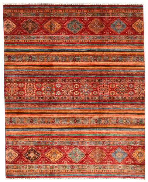 Shabargan Tappeto 249X310 Moderno Fatto A Mano Rosso Scuro/Ruggine/Rosso (Lana, Afghanistan)