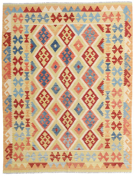 Kilim Afghan Old Style Tappeto 154X198 Orientale Tessuto A Mano Beige Scuro/Beige (Lana, Afghanistan)