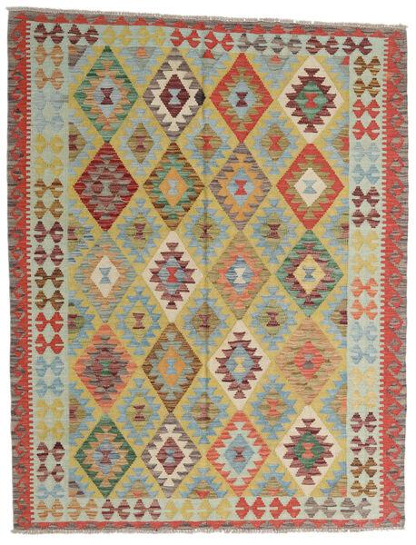 Kilim Afghan Old Style Tappeto 149X193 Orientale Tessuto A Mano Grigio Chiaro/Marrone Chiaro (Lana, Afghanistan)