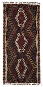 Kilim Malatya Tappeto 186X391 Orientale Tessuto A Mano Marrone Scuro/Marrone Chiaro (Lana, Turchia)
