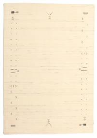 Gabbeh Loom Frame - Bianco Sporco Tappeto 160X230 Moderno Beige/Beige Scuro (Lana, India)