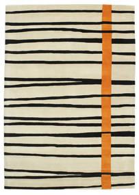 Gummi Twist Handtufted - Arancione Tappeto 160X230 Moderno Beige Scuro/Beige/Nero (Lana, India)