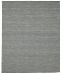 Kilim Loom - Grigio Scuro Tappeto 200X250 Moderno Tessuto A Mano Grigio Scuro/Verde Chiaro (Lana, India)