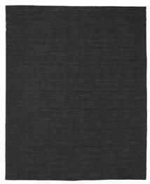 Kilim Loom - Nero Tappeto 200X250 Moderno Tessuto A Mano Nero (Lana, India)