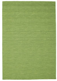 Kilim Loom - Verde Tappeto 200X300 Moderno Tessuto A Mano Verde Oliva/Verde Chiaro (Lana, India)