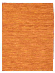 Kilim Loom - Arancione Tappeto 160X230 Moderno Tessuto A Mano Arancione (Lana, India)