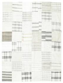 Kilim Patchwork Tappeto 170X227 Moderno Tessuto A Mano Beige/Grigio Chiaro (Lana, Turchia)