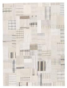 Kilim Patchwork Tappeto 170X230 Moderno Tessuto A Mano Beige/Grigio Chiaro (Lana, Turchia)