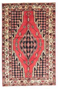 Saveh Tappeto 130X200 Orientale Fatto A Mano Marrone Scuro/Rosso Scuro (Lana, Persia/Iran)