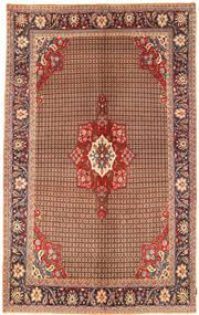 Koliai Tappeto 198X323 Orientale Fatto A Mano Marrone Scuro/Rosso Scuro (Lana, Persia/Iran)