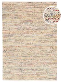 Hugo - Multi Tappeto 160X230 Moderno Tessuto A Mano Beige/Rosa Chiaro ( India)