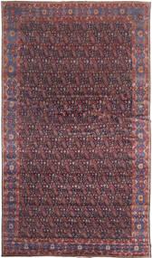 Senneh Tappeto 368X639 Orientale Fatto A Mano Marrone Scuro/Porpora Grandi (Lana, Persia/Iran)