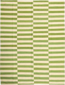 Kilim Moderni Tappeto 184X235 Moderno Tessuto A Mano Verde Oliva/Beige/Beige Scuro (Lana, Afghanistan)