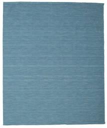 Kilim Loom - Blu Tappeto 250X300 Moderno Tessuto A Mano Blu Turchese/Blu Grandi (Lana, India)