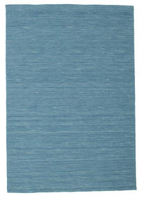 Kilim Loom - Blu Tappeto 120X180 Moderno Tessuto A Mano Blu Turchese/Blu (Lana, India)