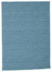 Kilim Loom - Blu Tappeto 140X200 Moderno Tessuto A Mano Blu Turchese/Blu (Lana, India)