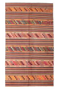Kilim Semi-Antichi Turchi Tappeto 167X290 Orientale Tessuto A Mano Ruggine/Rosso/Rosso Scuro (Lana, Turchia)