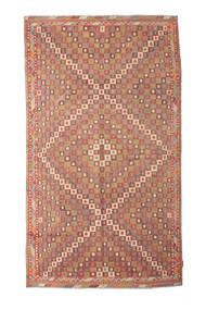 Kilim Semi-Antichi Turchi Tappeto 167X290 Orientale Tessuto A Mano Rosso Scuro/Marrone Chiaro/Ruggine/Rosso (Lana, Turchia)