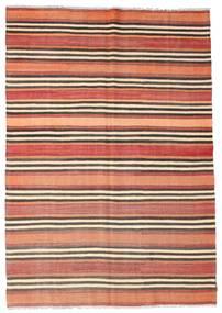 Kilim Semi-Antichi Turchi Tappeto 177X252 Orientale Tessuto A Mano Beige/Rosso Scuro (Lana, Turchia)