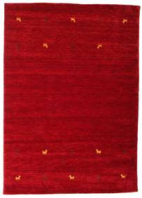 Gabbeh Loom Two Lines - Rosso Tappeto 160X230 Moderno Rosso/Rosso Scuro (Lana, India)