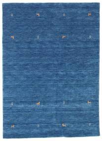 Gabbeh Loom Two Lines - Blu Tappeto 160X230 Moderno Blu Scuro/Blu (Lana, India)
