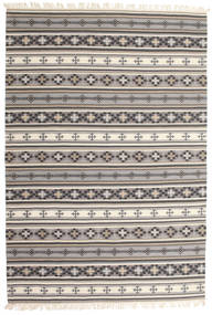 Kilim Cizre Tappeto 190X290 Moderno Tessuto A Mano Grigio Chiaro/Beige (Lana, India)