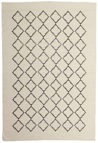 Marjorie - Bianco Sporco Tappeto 200X300 Moderno Tessuto A Mano Beige Scuro/Grigio Chiaro/Beige (Lana, India)