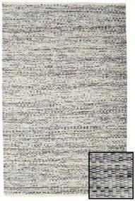 Pebbles - Grigio/Blu Mix Tappeto 160X230 Moderno Tessuto A Mano Grigio Chiaro/Beige Scuro ( India)