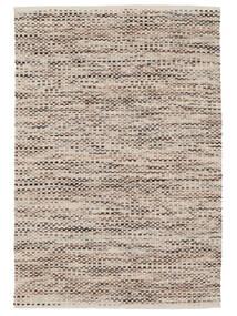 Pebbles - Marrone Mix Tappeto 140X200 Moderno Tessuto A Mano Grigio Chiaro/Beige ( India)