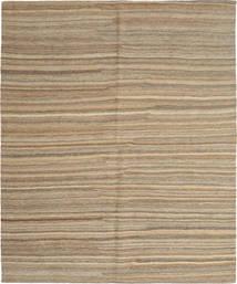 Kilim Moderni Tappeto 158X195 Moderno Tessuto A Mano Grigio Chiaro/Marrone Chiaro (Lana, Persia/Iran)