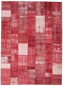 Patchwork Tappeto 254X350 Moderno Fatto A Mano Rosso/Rosa Grandi (Lana, Turchia)