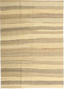 Kilim Moderni Tappeto 165X235 Moderno Tessuto A Mano Beige/Beige Scuro (Lana, Persia/Iran)