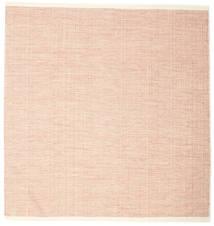 Seaby - Ruggine Tappeto 250X250 Moderno Tessuto A Mano Quadrato Rosa Chiaro/Beige Scuro Grandi (Lana, India)