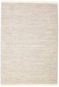 Seaby - Marrone Tappeto 160X230 Moderno Tessuto A Mano Grigio Chiaro/Beige (Lana, India)