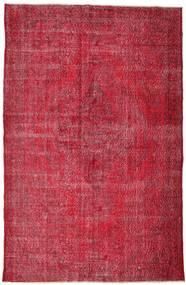 Colored Vintage Tappeto 210X324 Moderno Fatto A Mano Rosso/Rosso Scuro/Ruggine/Rosso (Lana, Turchia)
