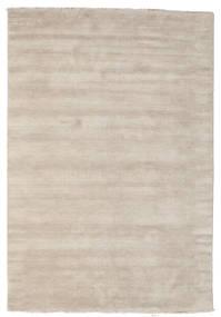 Handloom Fringes - Grigio Chiaro/Beige Tappeto 160X230 Moderno Grigio Chiaro (Lana, India)