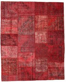 Patchwork Tappeto 195X244 Moderno Fatto A Mano Rosso Scuro/Rosso (Lana, Turchia)