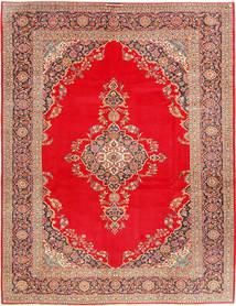 Keshan Tappeto 293X388 Orientale Fatto A Mano Rosso/Marrone Chiaro Grandi (Lana, Persia/Iran)