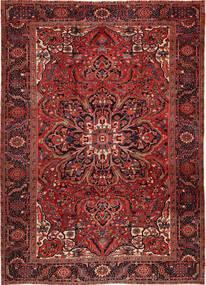 Heriz Tappeto 262X358 Orientale Fatto A Mano Rosso Scuro/Marrone Scuro Grandi (Lana, Persia/Iran)