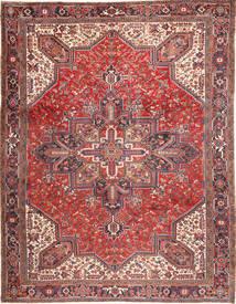 Heriz Tappeto 293X380 Orientale Fatto A Mano Rosso Scuro/Beige Grandi (Lana, Persia/Iran)