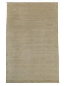 Handloom Fringes - Greige Tappeto 160X230 Moderno Grigio Chiaro (Lana, India)