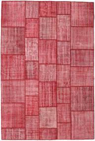 Patchwork Tappeto 203X304 Moderno Fatto A Mano Ruggine/Rosso/Rosa (Lana, Turchia)