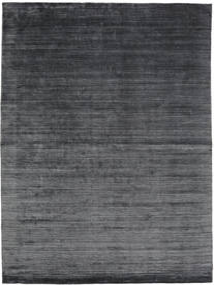 Bambù Di Seta Loom - Charcoal Tappeto 200X300 Moderno Nero/Porpora/Grigio Scuro ( India)